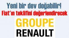 Renault Grubu, Fiat Chrysler'in teklifini değerlendirmeye aldı