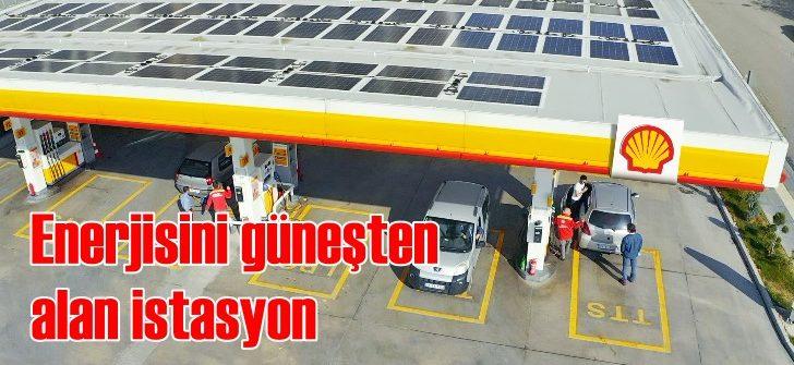 Shell'den enerjisini güneşten alan istasyon yatırımı