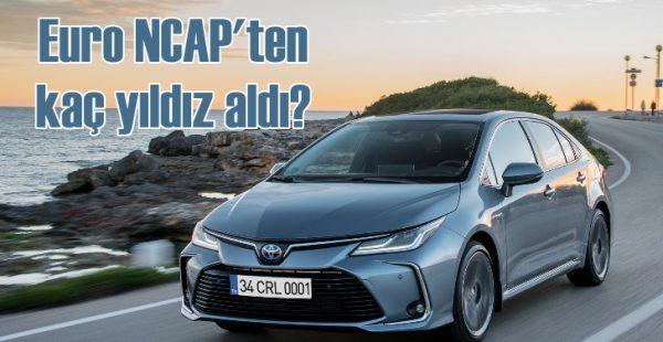 Toyota Corolla ve RAV4 Euro NCAP'ten kaç yıldız aldı?
