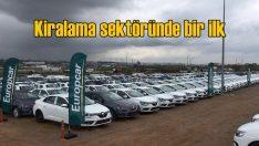 Europcar'dan Türkiye'de bir ilk