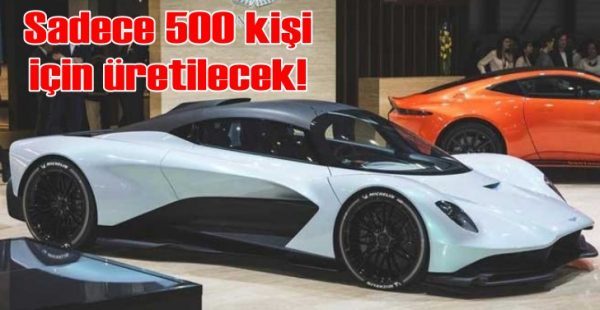 Yeni Aston Martin Valhalla Bond filminde oynayacak
