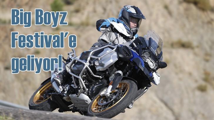 BMW'nin en yeni motosikletleri Big Boyz Festivali'ne gidiyor