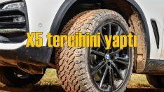 Yeni BMW X5'in lastikleri General Tire oldu!