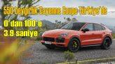 550 beygirlik Porsche Cayenne Coupe Türkiye'de