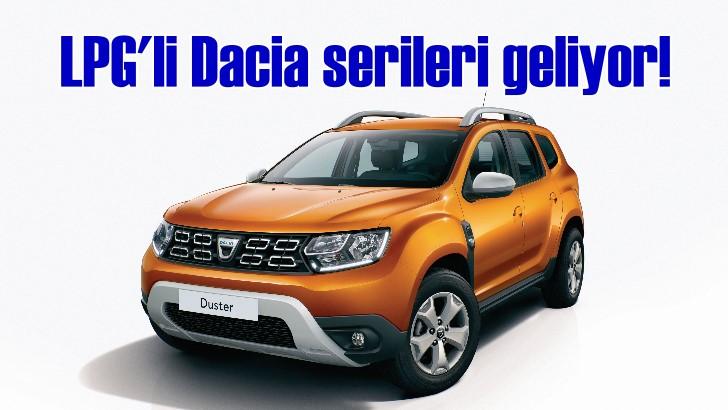 Dacia ürün gamını LPG serisiyle genişletiyor