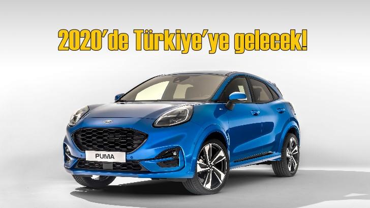 Ford SUV ürün gamını Puma'yla genişletiyor