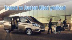 Ford, Transit ve Custom ailesini yeniledi