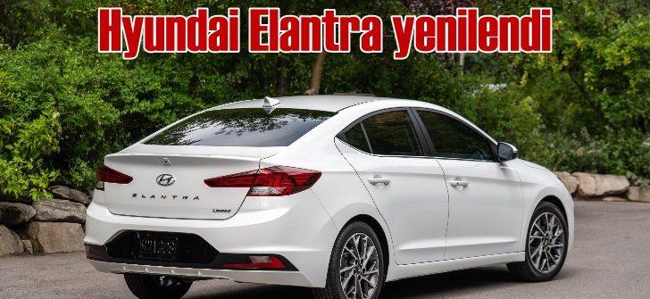 Hyundai'nin 11 milyon adet satılan modeli Elantra yenilendi