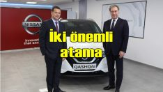 Nissan, Özkök'ü Hindistan'a, Doğueri'ni Türkiye'ye atadı
