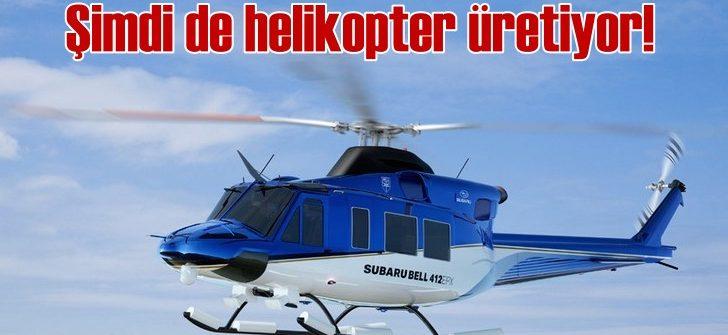 Subaru helikopterlerine ilk siparişi Japonya Polis Teşkilatı verdi