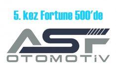 ASF Otomotiv, 5. kez 'Fortune 500'e girdi