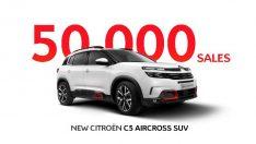 C5 Aircross şimdiden SUV 50 bin adetlik satışa ulaştı