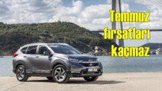 Honda Civic ve CR-V'de Temmuz fırsatları
