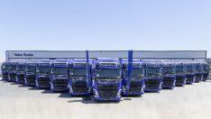 Köknar Taşımacılık filosuna 15 adet Volvo çekici dahil etti