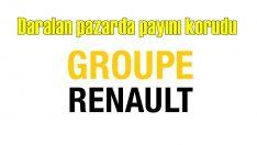 Renault, daralan küresel pazarda payını korudu