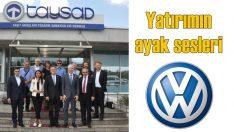 Alman basını Volkswagen yatırımı için mi geldi?