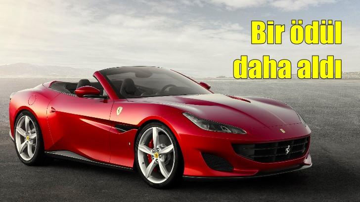 Ferrari Portofino'ya bir ödül daha