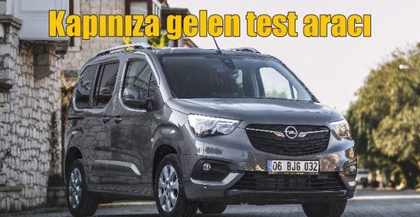 Opel test aracını kapınıza getiriyor!