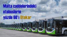 Malta yollarındaki otobüslerin yüzde 60'ı Otokar oldu