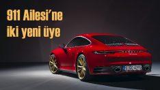 911 ailesi Carrera Coupe ve Carrera Cabriolet ile genişliyor
