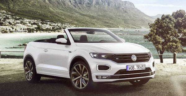 Volkswagen küçük SUV'u T-Roc'un üstünü açtı