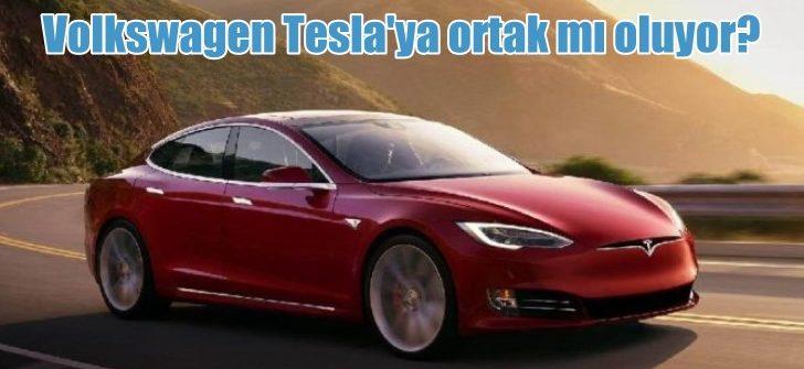 Volkswagen Tesla'ya ortak mı oluyor?