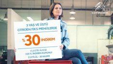 Citroen'de kışa hazırlık bakım kampanyası başladı