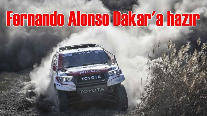 Fernando Alonso, Toyota ile Dakar hazırlığında ilk yarışını tamamladı