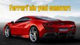 Ferrari yeni canavarını tanıttı