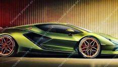 Lamborghini'nin ilk elektriklisi basına sızdı