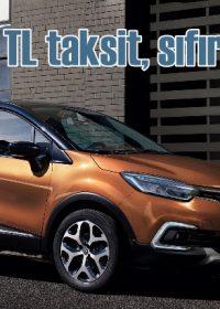 Ayda 1.500 TL'ye Renault fırsatı