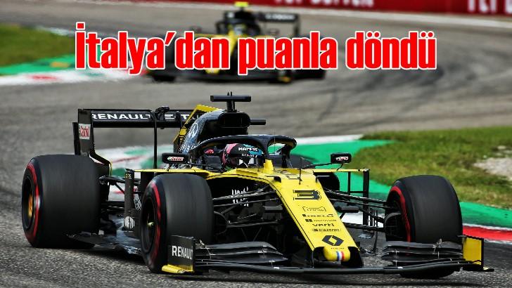Renault İtalya'dan puanla döndü