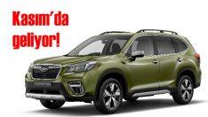 Subaru Forester e-Boxer Kasım'da geliyor