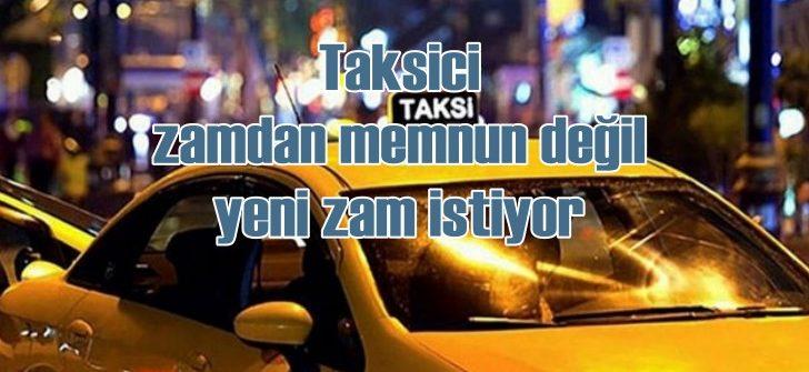 İstanbul'da taksilere yapılan zam memnun etmedi