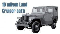 Toyota'nın Land Cruiser satışı 10 milyonu geçti