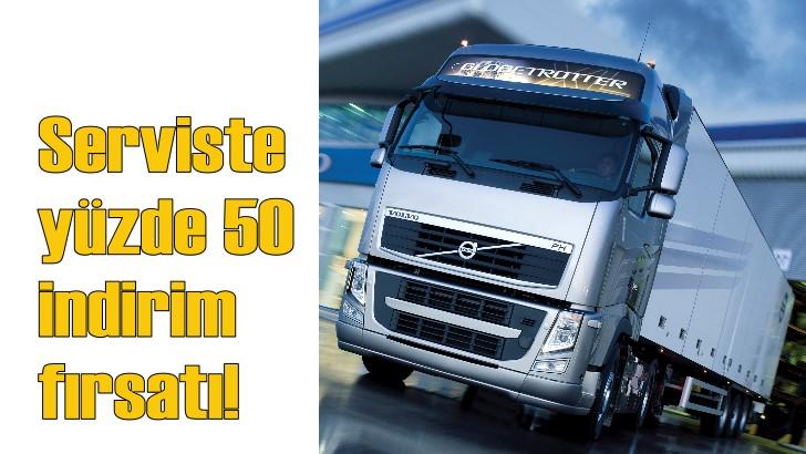 Volvo Trucks'tan kaçırılmayacak servis kampanyası!