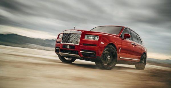 Rolls-Royce Cullinan Türkiye'de