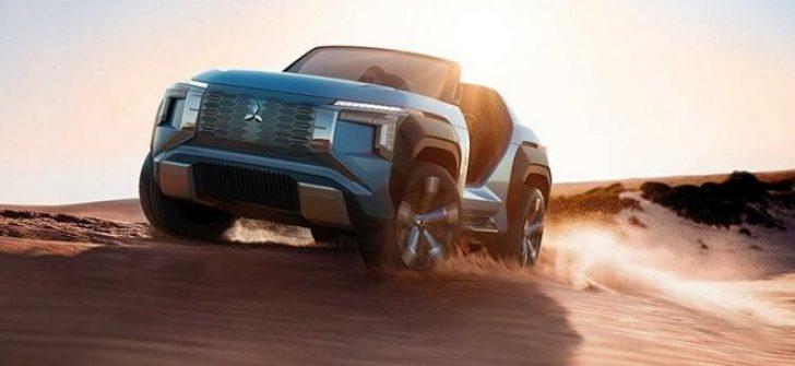 Mitsubishi gelecekten gelen aracını tanıttı: MI-TECH