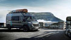 Peugeot'tan yeni konsept: Boxer 4X4