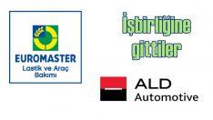 ALD'nin filosundaki araçların lastiği Euromaster'a emanet