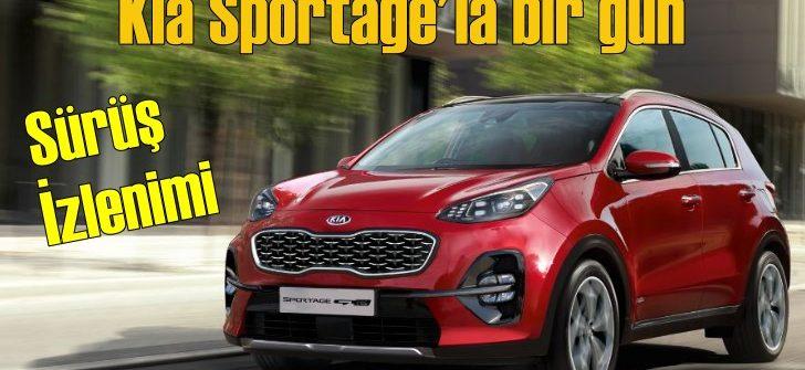 Kia Sportage'la bir gün