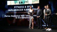 Petlas'ın Reynmen'li reklamına 'En İyi Fittness & Spor Influencer ödülü