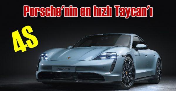 Porsche, elektrikli Taycan'ın üçüncü versiyonu 4S'i tanıttı