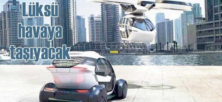 Porsche lüksü havaya taşıyor