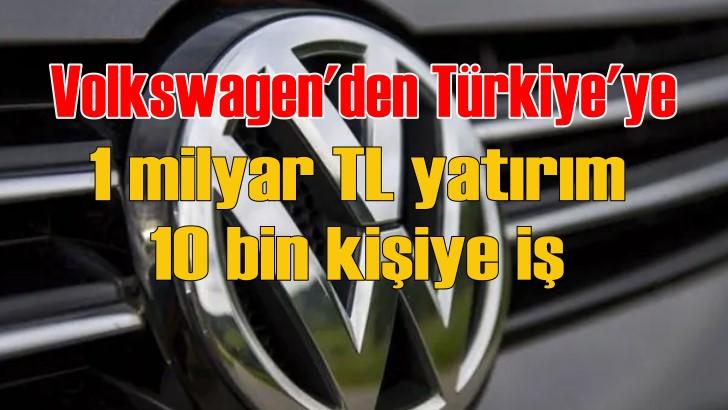 Volkswagen Turkey 1 milyar TL'lik sermayeyle Manisa'da kuruldu