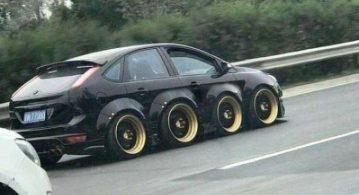 Yollarda görebileceğiniz en tuhaf otomobiller