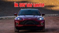 Aston Martin ilk SUV'u DBX'i tanıttı