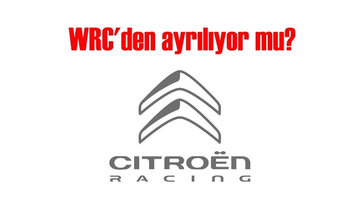 İyi sürücü bulamayan Citroen WRC'den ayrılıyor