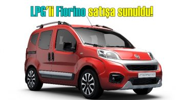LPG'li Fiorino geliyor!