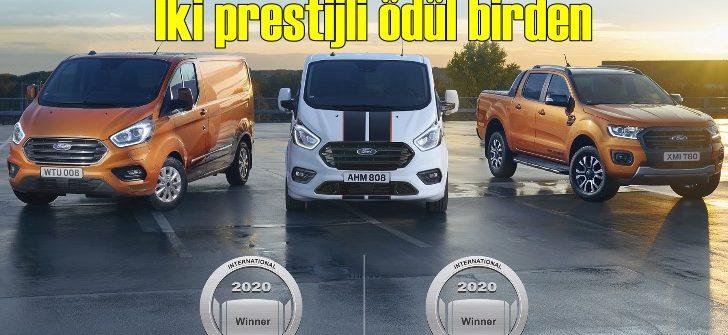 Ford aynı anda 2 uluslararası ödül birden kazandı